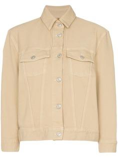 Jeanerica джинсовая куртка свободного кроя