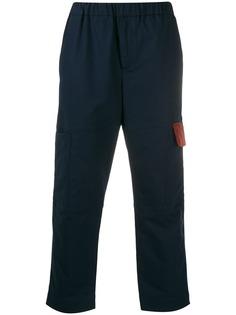 Kenzo укороченные брюки карго