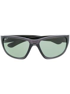 Ray-Ban солнцезащитные очки в квадратной оправе