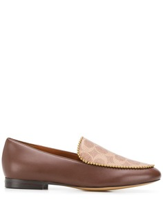 Coach Harper beadchain trim loafers