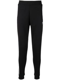 Adidas спортивные брюки с тремя полосками