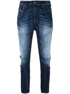 Diesel джинсы кроя слим с эффектом потертости