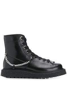 Neil Barrett ботинки с цепочкой