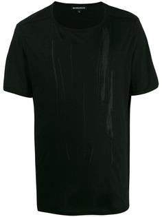 Ann Demeulemeester футболка с принтом