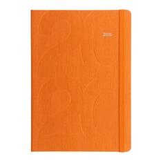 Ежедневник LETTS Block, A5, белые страницы, оранжевый, 1 шт [081655]