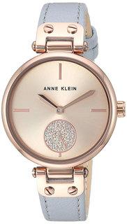 Женские часы в коллекции Crystal Женские часы Anne Klein 3380RGLG