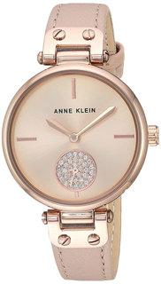 Женские часы в коллекции Crystal Женские часы Anne Klein 3380RGLP