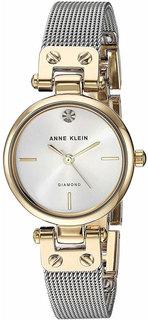 Женские часы в коллекции Diamond Женские часы Anne Klein 3003SVTT