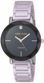 Женские часы в коллекции Diamond Ceramics Женские часы Anne Klein 3365GYLV