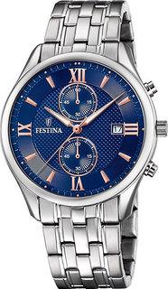 Мужские часы в коллекции Timeless Chrono Мужские часы Festina F6854/6