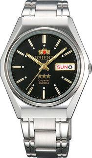 Японские мужские часы в коллекции 3 Stars Crystal 21 Jewels Мужские часы Orient AB06005B