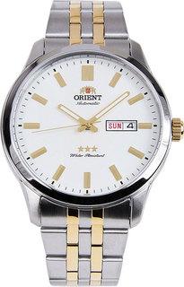 Японские мужские часы в коллекции 3 Stars Crystal 21 Jewels Мужские часы Orient AB0B008W