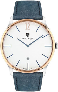Швейцарские мужские часы в коллекции Bach Мужские часы Wainer WA.11011-F