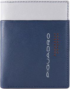 Кошельки бумажники и портмоне Piquadro PU3244UB00R/BLGR