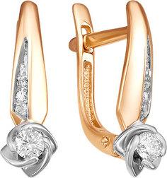 Золотые серьги Серьги Diamond Union 5-3092-103-2K