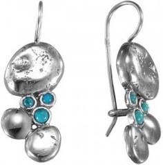 Серебряные серьги Серьги DEN'O MVE804TQ Den'o