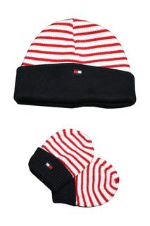 Набор: шапка, перчатки Tommy Hilfiger