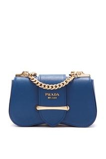 Синяя сумка Sidonie Prada