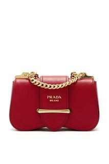 Бордовая сумка Sidonie Prada