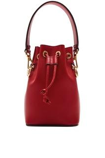 Бордовая сумка Mon Tresor Fendi