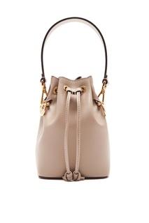 Бежевая сумка Mon Tresor Fendi
