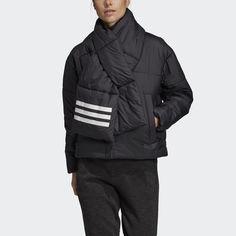 Утепленная куртка-бомбер Big Baffle adidas Performance
