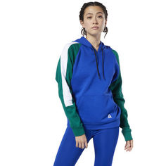 Толстовка Workout Ready Colorblocked Cover-Up Reebok