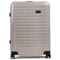 Чемодан DOT-DROPS 34125PC серый