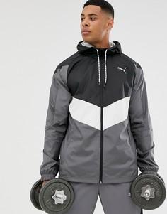 Серая куртка Puma - Training reactive - Серый