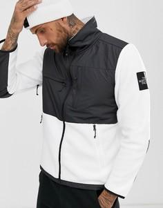 Белая флисовая куртка The North Face Lunar Denali - Белый