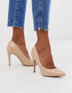 Светло-коричневые туфли-лодочки New Look - Рыжий
