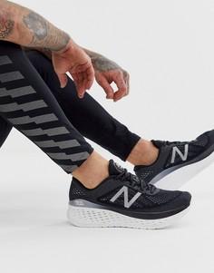 Черные кроссовки для бега New Balance Running fresh foam - Черный