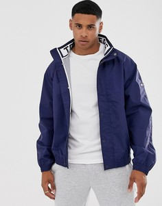Спортивная куртка с сетчатой подкладкой Tommy Jeans - Темно-синий