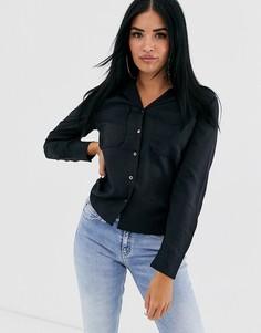 Рубашка Calvin Klein Diner Closure - Черный