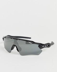 Черные солнцезащитные очки с черными стеклами Oakley Radar EV Path - Черный