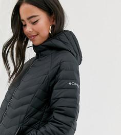 Черная куртка с капюшоном Columbia Powder Lite - Черный
