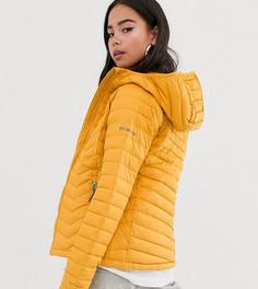 Желтая куртка с капюшоном Columbia Powder Lite - Желтый