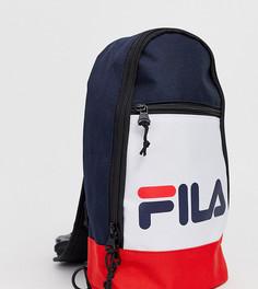 Рюкзак с одним ремешком (темно-синий/белый/красный) Fila Marlin - Мульти