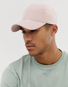 Розовая бейсболка ASOS DESIGN - Розовый