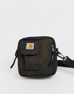 Небольшая камуфляжная сумка для авиапутешествий Carhartt WIP Essentials - Зеленый