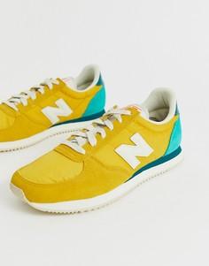 Желтые кроссовки New Balance - 220 - Желтый