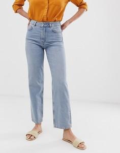 Синие прямые джинсы Selected Femme - Синий