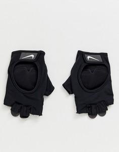 Черные перчатки Nike Training - womens ultimate - Черный