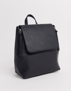 Черный рюкзак на молнии Stradivarius - Черный