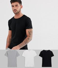 3 футболки для дома с круглым вырезом Tommy Hilfiger - Белый