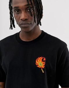 Черная футболка с принтом спички Carhartt WIP - Черный