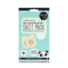 """OH K! SHEET MASK - AVOCADO Маска для лица увлажняющая и успокаивающая """"Авокадо"""""""