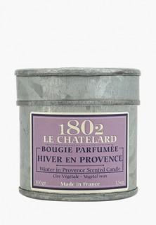Свеча ароматическая Le Chatelard 1802 Зима в Провансе