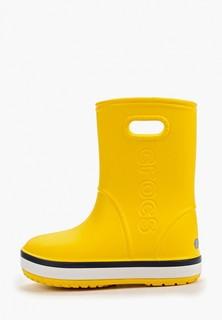 Резиновые сапоги Crocs Crocband Rain Boot K