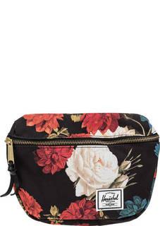 Сумка 10215-02997 vintage floral black Herschel